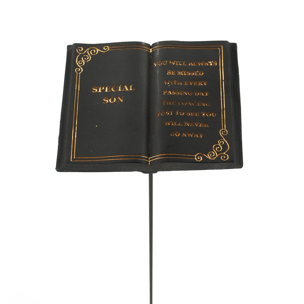 Special Son Memorial Black Book Remembrance Stick