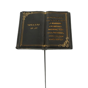 Special Dad Memorial Black Book Remembrance Stick