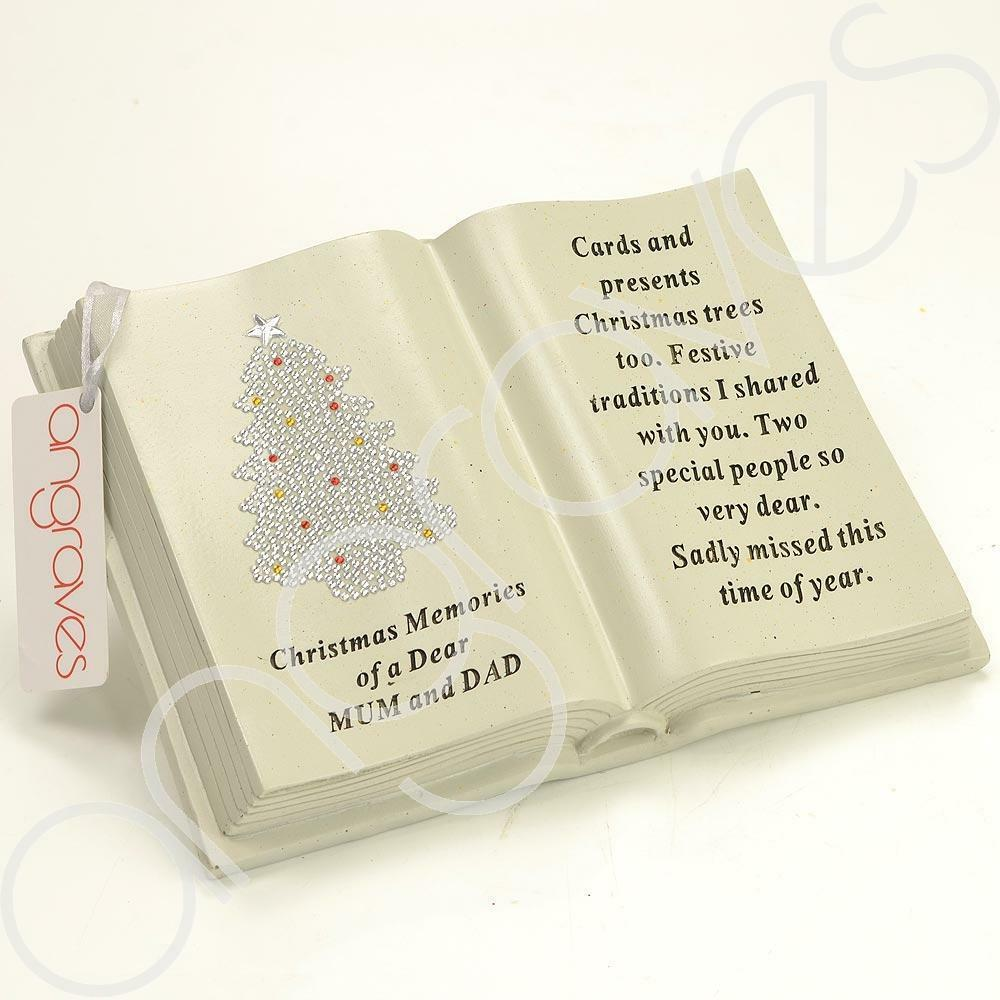 Special Mum & Dad Christmas Tree Memorial Book