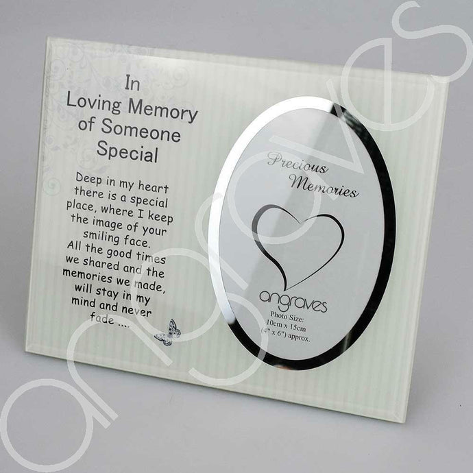 Someone Special Photo Frame (4 x 6 inch) - Angraves Memorials