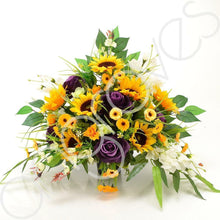 Load image into Gallery viewer, Soleil Yellow Sunflower Memorial Arrangement