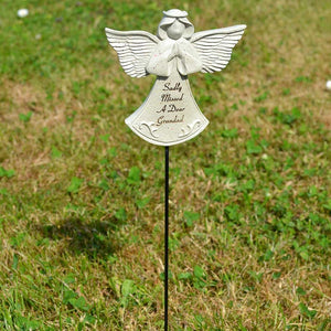 Sadly Missed Grandad Guardian Angel Memorial Remembrance Stick
