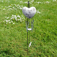 Load image into Gallery viewer, Special Nan Always Loved Sadly Missed Heart Wind Chime - Angraves Memorials