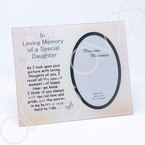 Special Daughter Photo Frame (4 x 6 inch) - Angraves Memorials