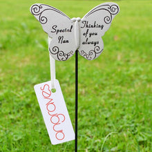 Load image into Gallery viewer, Thinking of you Always Special Nan Butterfly  Memorial Remembrance Stick