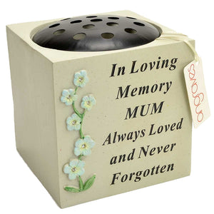 Special Mum Diamante Flowers On a Stem Flower Vase