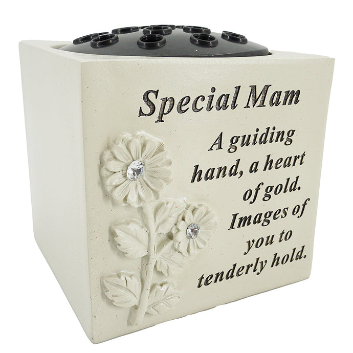 Special Mam Diamante Flower Vase