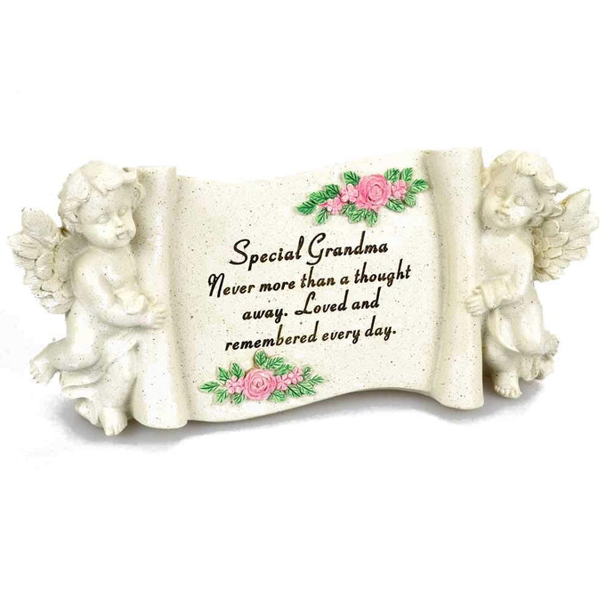 Special Grandma Graveside Memorial Scroll Plaque