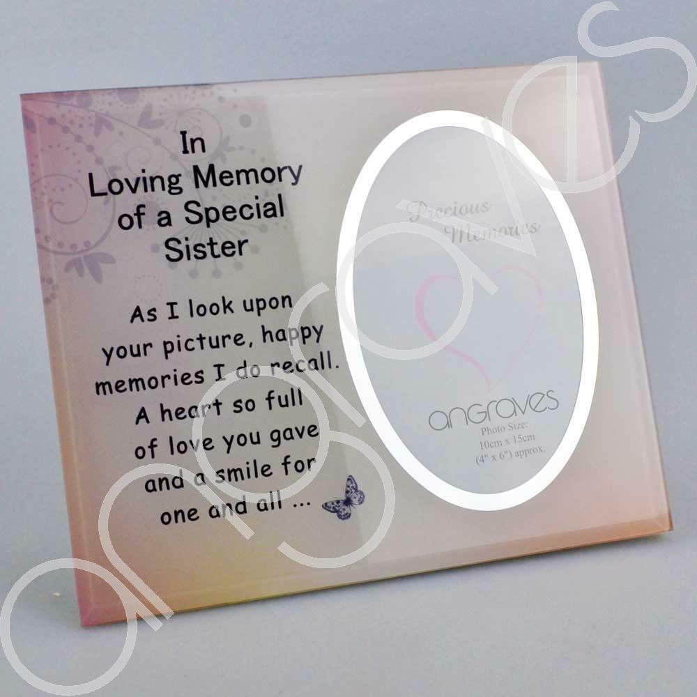 Special Sister Photo Frame (4 x 6 inch)