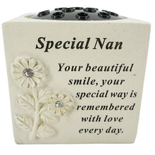 Load image into Gallery viewer, Special Nan Diamante Flower Vase