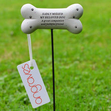 Load image into Gallery viewer, Beloved Dog Sadly Missed Bone Pet Memorial Remembrance Stick