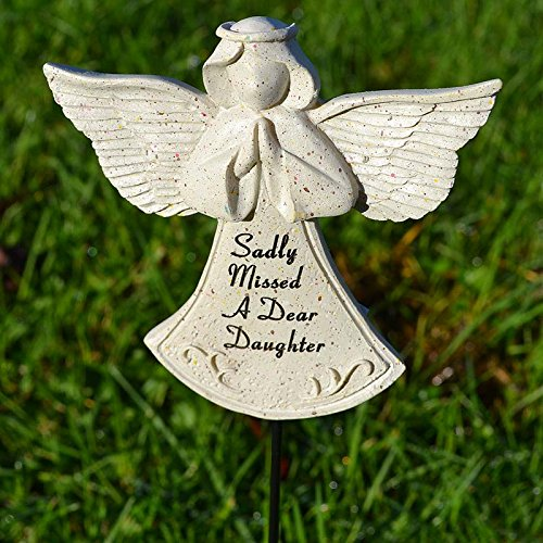 Sadly Missed Daughter Guardian Angel Memorial Remembrance Stick