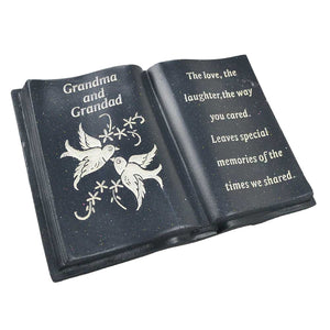 Special Grandma & Grandad Love & Peace Dove Memorial Book
