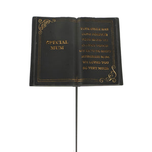 Special Mum Black Book Remembrance Stick