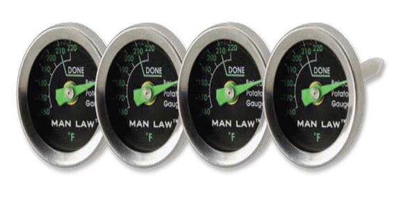 Potato Gauge Series with Glow in the Dark Dial 4/set MAN-T343PBBQ