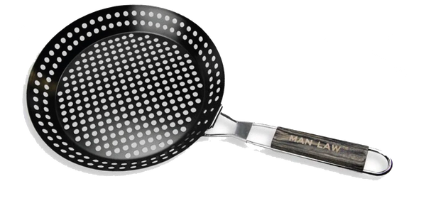BBQ Non stick Skillet Basket MAN LAW MAN-H3