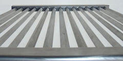290mm x 420mm Stainless Steel Diamond Grill
