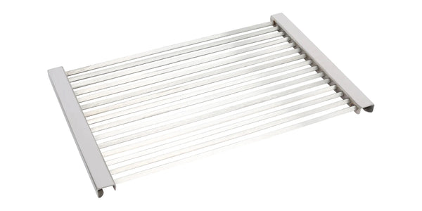 240 x 485mm Stainless Steel Diamond Grill