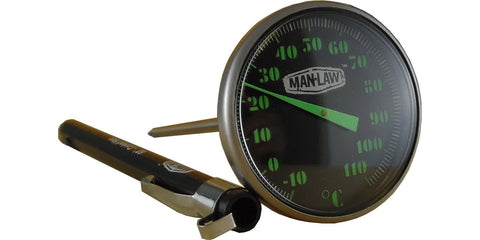 Instant Read Gauge with Glow in the Dark Dial MAN-T816CBBQ