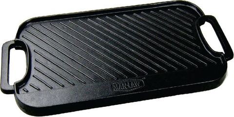 Cast Iron Reversible BBQ Griddle MAN LAW MAN-CG1