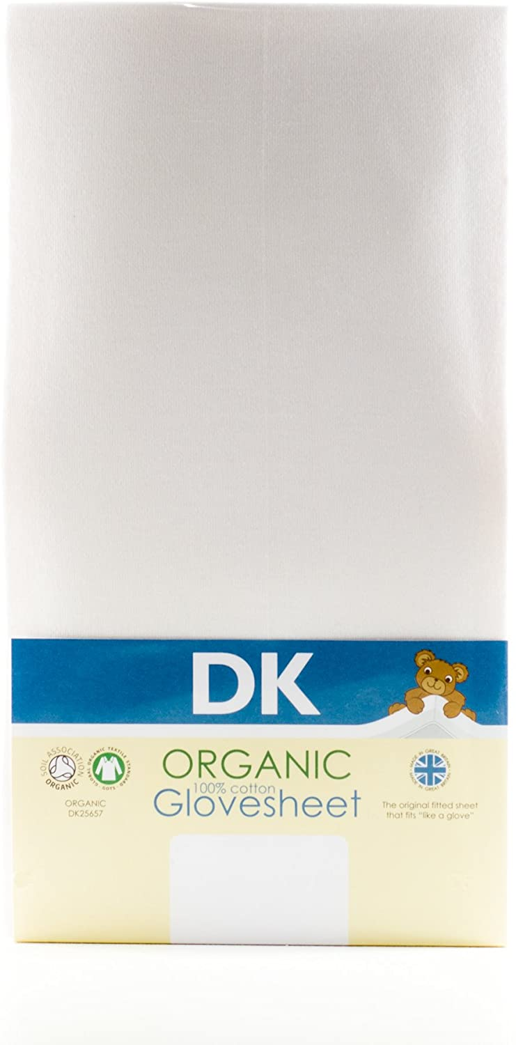 100% Organic Cotton Cot and Cot Bed Sheet