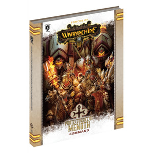 Forces of Warmachine Protectorate of Menoth Command HARDCOVER