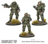 Warlord Games Bolt Action Konflikt 47 British Galahad Infantry Officer 453010602