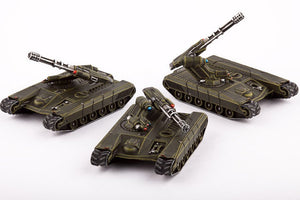 Dropzone Commander UCM Rapier AA Tanks (3) by Hawk Wargames DZC 21008