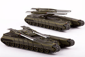 Dropzone Commander UCM Gladius Heavy Tanks (2) by Hawk Wargames DZC 21010