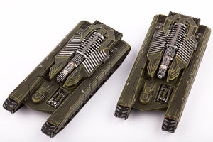 Dropzone Commander UCM Scimitar Tank Destroyers (2) by Hawk Wargames DZC 21011
