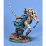Dark Sword Miniatures Visions In Fantasy 7419 28mm Metal Female Wood Elf Warrior