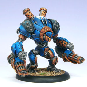 Cygnar: Cyclone-Defender-Ironclad PLASTIC Heavy Warjack BOX