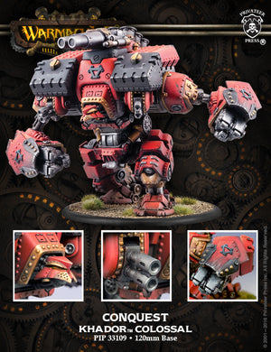 Khador: Conquest-Victor Colossal Kit PIP 33109