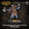 Privateer Press Winter Guard Artillery Kapitan Warmachine Khador PIP 33123