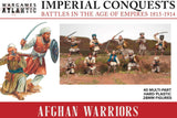 Wargames Atlantic 40 Plastic 28mm Imperial Conquests Afghan Warriors IC001
