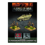 Battlefront Flames of War GBX138 Armoured SS Panzergrenadier Company HQ