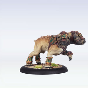 Circle Orboros: Argus Moonhound PLASTIC Light Warbeast BOX
