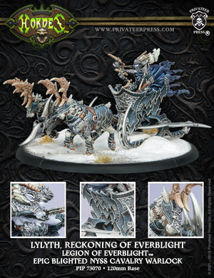 Hordes Legion of Everblight Lylyth Reckoning of Everblight 73070
