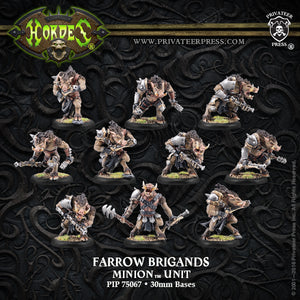 Minions: Farrow Brigands-Commands Unit Box