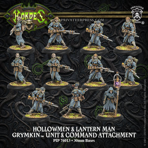 Hordes: Grymkin: Hollowmen & Lantern Men 76013