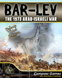 Compass Games 1085 Bar-Lev The 1973 Arab-Israeli War Deluxe Third Edition
