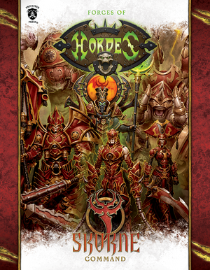 Privateer Press Hordes: Skorn Command - Hardcover PIP 1097