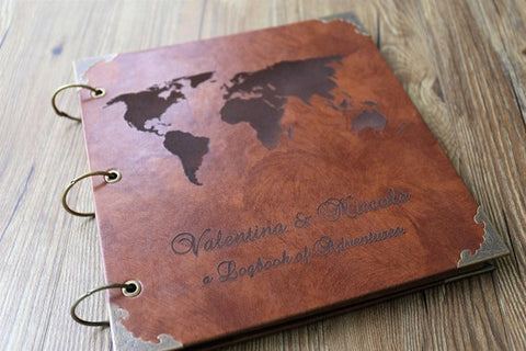 Leather Travel Photo Album