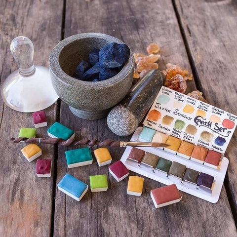 Artisan Handmade Watercolor Set