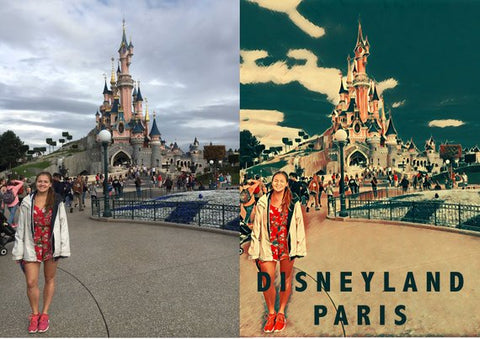 Your Photos Turned Into Vintage Travel Posters