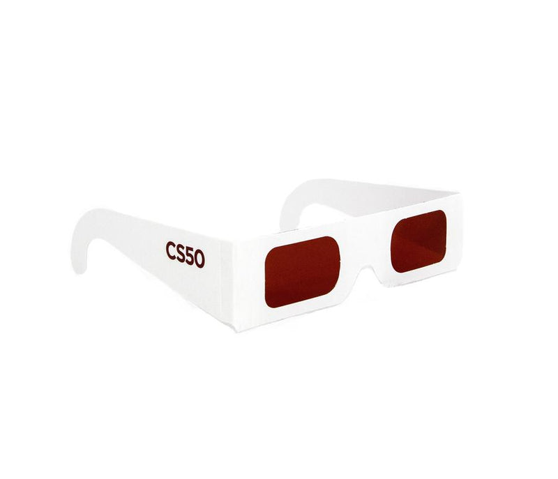 CS50 Secret Decoder Glasses