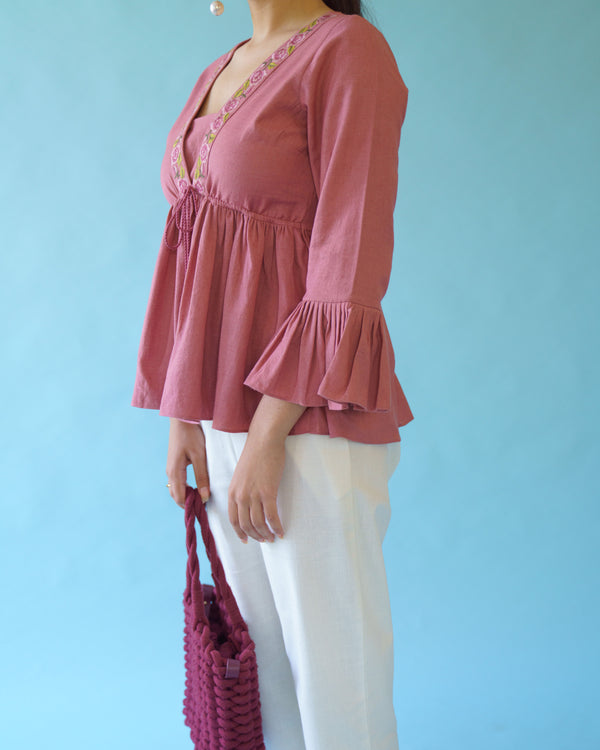HAZE - ROSE PINK TOP