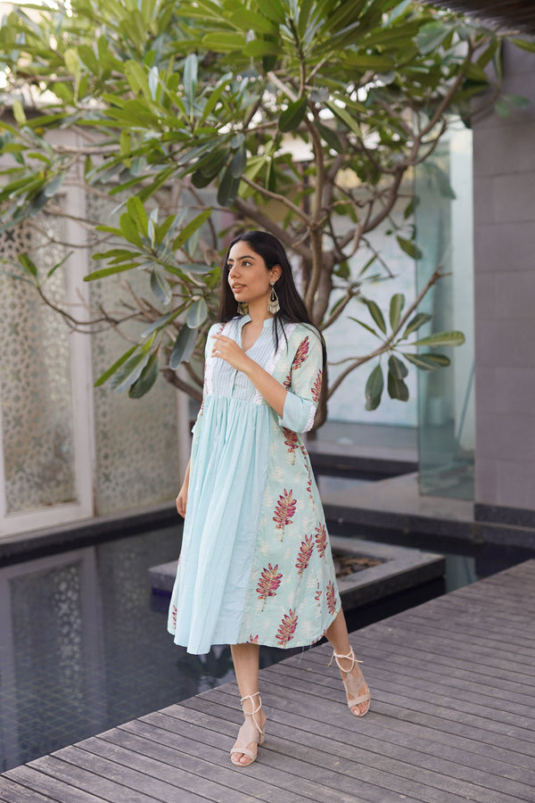 LAVANYA- CASUAL KNEE-LENGTH DRESS