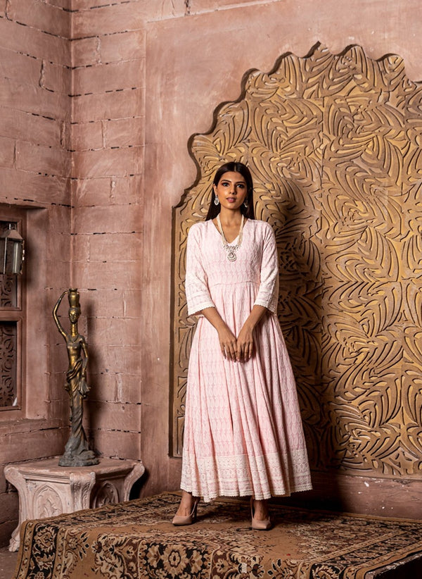 Falak-Embroidered Dress