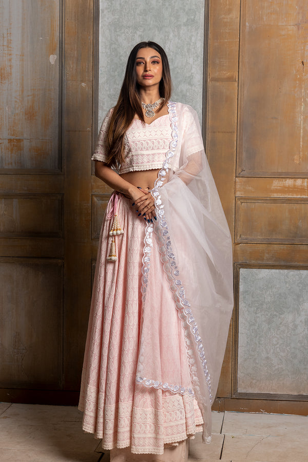 Mallika Embroidered Lehenga Set